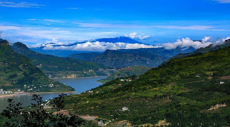 云南昭通西部大峡谷风景