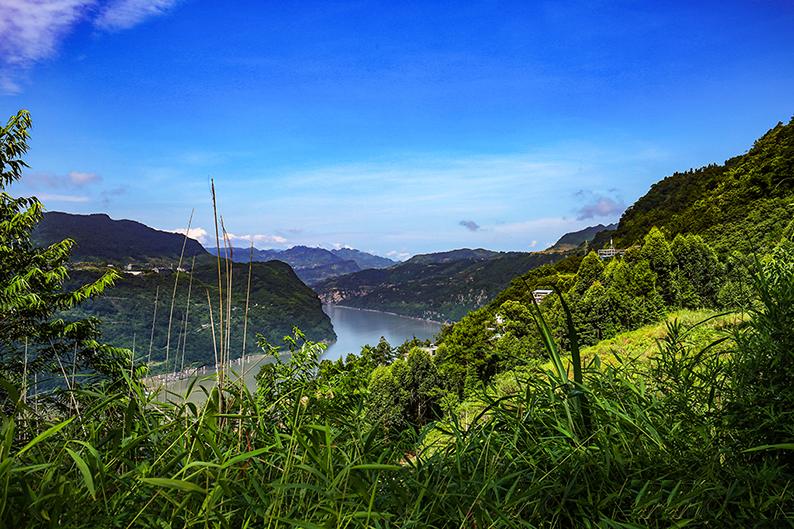 云南昭通西部大峡谷风景6