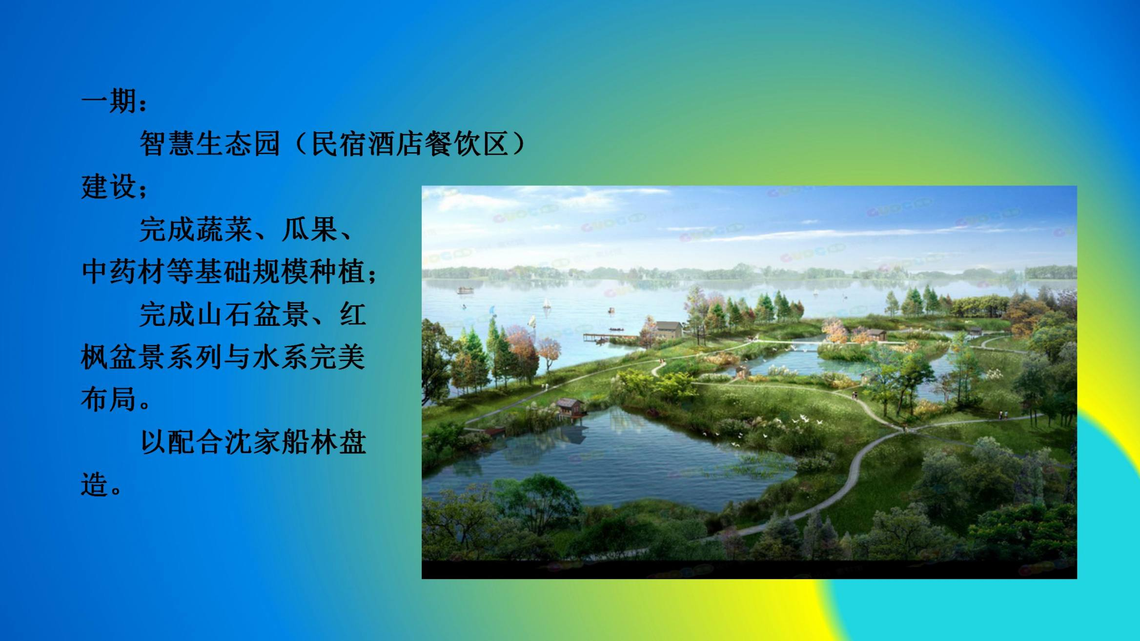 沈家船田园水乡智慧生态园 (2)